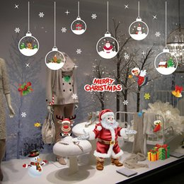 $enCountryForm.capitalKeyWord Australia - Christmas Day Shop Cabinet Window Glass Sticker Decoration Sticker Christmas Static