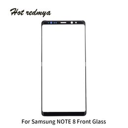 $enCountryForm.capitalKeyWord UK - Front Outer Glass Lens Panel For Samsung Galaxy Note 8 N950 N950F 6.3 inch LCD Front Touch Digitizer Screen Glass Replacement Parts