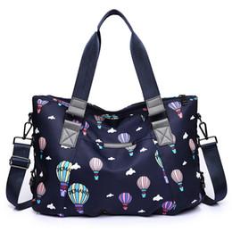 $enCountryForm.capitalKeyWord Australia - good quality Cute Cartoon Hot Air Balloon Print Handbag For Female Oxford Zipper Handbag Large Capacity Shoulder Bag