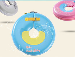 Pool wear online shopping - Non Inflation Baby Safety Collar Pure Color Lovely Swimming Pool Standard Edition Popular Security Anti Wear Factory Direct mbI1