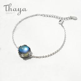 $enCountryForm.capitalKeyWord Australia - Thaya Aurora Ladies' Bracelets S925 Silver Gradient Crystal Magical Bracelet Female Simple Elegant Dainty Friendship Jewelry T190703