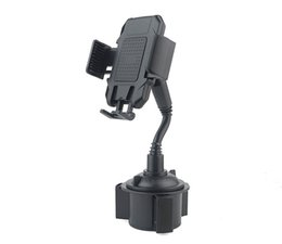 iphone gooseneck NZ - Factory Car Cup Phone Holder Car Mount With Adjustable Gooseneck Universal for iPhone Samsung Huawei Xiaomi SmartPhones