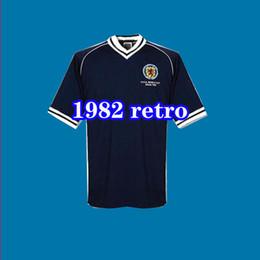 1ac5dce5a 1982 Scotland retro soccer jerseys home world cup 82 83 Dalglish Strachan  Miller Souness Hansen George Wood football shirts thailand xxl