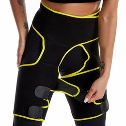 Wholesale thighs shaper for sale - Group buy Trainer Body Shaper Waist Cincher Corset Women Thigh Trimmer Leg Shapers Slimming Belt Burning Heat Push Up Waist
