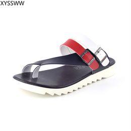 016515234 New Summer Men's Slippers 2019 Fashion Outdoor Slides Indoor Non-slip Slippers  Beach flip flops Personalized men