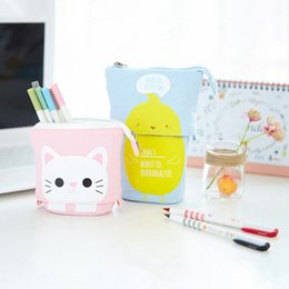 pencil case bag stationery holder NZ - Cute Kawaii 3D Pencil Case School Supplies Novelty Item For Kids school pencil cases for girl stationery canvas pencil bag
