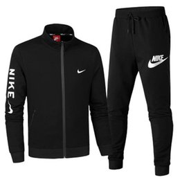 Spring autum online shopping - AD Brand Mens hoodies and pants Tracksuits sets Colors Size L XLcm long sleeve sportswear fashion spring autum