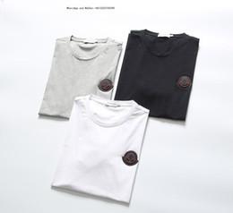 $enCountryForm.capitalKeyWord NZ - Man New Product short sleeve T-shirt Male Tide Pure Cotton Printing Round Collar t shirts for men tshirts brands 0308