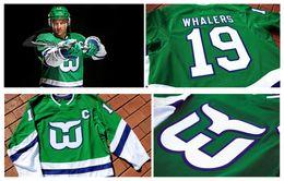 Обычай НХЛ Хартфорд Уэйлерс Джерси мужчины женщины молодежь 20 Себастьян Ахо 49 Виктор Раск Теуво Теравайнен Рон Фрэнсис фолк Славин Пеше хоккей на Распродаже