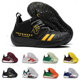 f10f4c586895b9 AAA+quality James Harden Vol.2 Basketball Shoes For Men Fashion Black White  Red Green Orange Blue Grey Brown Wine Sports Sneakers