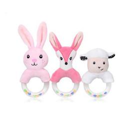 $enCountryForm.capitalKeyWord UK - Cute Baby Rattle Mobiles Cartoon Animal Hand Bell Rattle Soft Toddler Plush Baby Gifts Birthday Gift