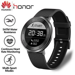 $enCountryForm.capitalKeyWord Australia - Original Huawei Smart Swim Waterproof Heart Rate Monitor Fitness Tracker For Men Honor S1 5atm Swimming Watch J190522