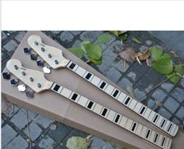 $enCountryForm.capitalKeyWord Australia - HOT Wholesale 20 fret neck 4 Strings Jazz Bass Neck Maple With Tuning Keys Free Shipping -15-9