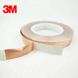 $enCountryForm.capitalKeyWord Australia - 3m1181 double sided conductive transformer mylar copper foil tape core material rubber tube core yellow tape can electrostatic release