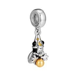 $enCountryForm.capitalKeyWord UK - Christmas charms S925 silver fits for pandora style bracelet Santa Candy Cane Hanging Charm 797500EN09 H8Sorcerer hanging charms 925 sterlin