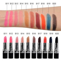 $enCountryForm.capitalKeyWord Australia - Quality 20 Sexy Colors Matte Lipstick Long-lasting Waterproof No Fading Nude Vampire Matte Lip Stick Pen Velvet Makeup Cosmetic Free Ship