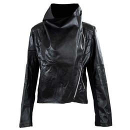 $enCountryForm.capitalKeyWord Australia - NEW Spring Autumn Women's Slim Biker Motorcycle PU Soft Leather Zipper Jacket Woman Coat