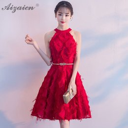 modern red cheongsam dress Australia - Red Mini Bride Marry Gown Qi Pao Women Traditional Chinese Wedding Dress Cheongsam Modern Oriental Style Tassel Dresses Qipao