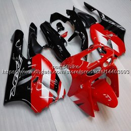 $enCountryForm.capitalKeyWord Australia - 5Gifts+Custom red black motorcycle Fairing For Kawasaki ZX9R 1994 1995 1996 1997 ZX-9R 94 95 96 97 ZX 9R ABS plastic motorcycle hull