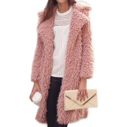 european clothing styles for women 2019 - Wholesale Women Trench Coats for Winter Women's Wool Overcoat Female Long Hooded Coat Outwear Solid Color Clothing