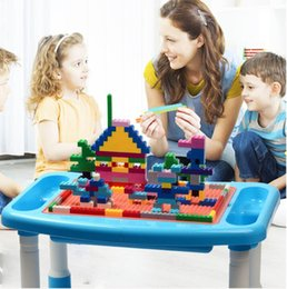 plastic building blocks toys big Australia - Childrens Building Block Assembly Big Granule Baby Kindergarten Early Childhood Education Educational Toys Wholesale kids toys