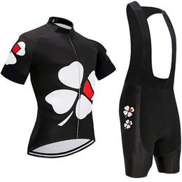 Toptan satış 2019 Tour de France Pro Team FDJ Bisiklet Jersey 9D Önlük Set Bisiklet Giyim Bisiklet Giyim Giysileri Erkek Kısa Maillot Culotte Ropa Ciclismo