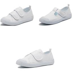 a6a303f453f473 Детская обувь Детская обувь из плотной ткани белые повседневные лоферы  детские летние туфли на плоской подошве Soft Dance Повседневная обувь  KKA6685