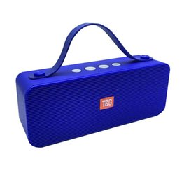 $enCountryForm.capitalKeyWord Australia - TG521 Bluetooth Portable Speaker with Handle Wireless Mini Soundbox Outdoor Stereo Hifi Loudspeaker Supports U Disk TF MP3 Music Player