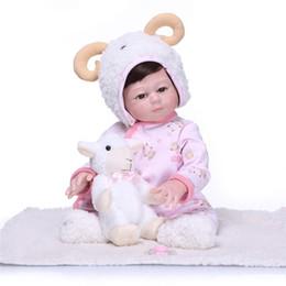 $enCountryForm.capitalKeyWord Australia - New Arrival 50CM Baby Girl Doll Full Silicone Body Lifelike Bebe Reborn Bonecas Handmade Baby Toy For Kids Christmas Gifts