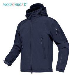 $enCountryForm.capitalKeyWord Australia - WOLFONROAD Men Tactical Jackets Softshell Hiking Jacket Coat Outdoor Sport Clothes Waterproof Windproof Winter Jacket
