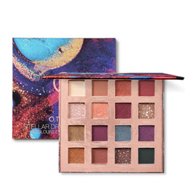 Chinese  16 Colors Eyeshadow Palette Matte Eye Shadow Palette Powder Matte Shimmer Makeup Pearl Palette Make Up Tools RRA1121 manufacturers