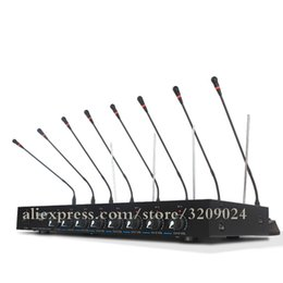 $enCountryForm.capitalKeyWord Australia - 8 Channel Wireless Conference Microphone Capacitance Gooseneck Interference Conference System With 8 Microphones 1 Receiver