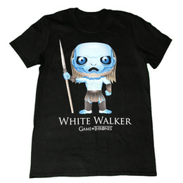 $enCountryForm.capitalKeyWord UK - Game Of Thrones - White Walker Pop Art - Official Mens T ShirtFunny free shipping Unisex Casual Tshirt