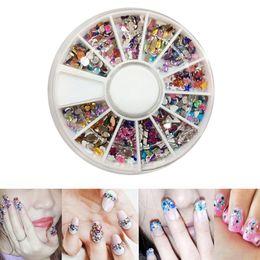Menow 2018 Newly Wholesale 3d Acrylic Nail Art Tips Stud Diy Glitter Rhinestones Wheels Nail Art Decoration 07.11 Nail Art Templates Nails Art & Tools