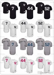 $enCountryForm.capitalKeyWord Australia - 2018 custom Men women youth NY Yankees Jersey #7 Mickey Mantle 44 Reggie Jackson 52 Sabathia Home Black White Grey Baseball Jerseys