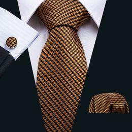 $enCountryForm.capitalKeyWord Australia - Men Khaki Navy Fashion Tie for Men 8.5cm Width Neckties And Handkerchief Set For Wedding Ties Male Groom Business