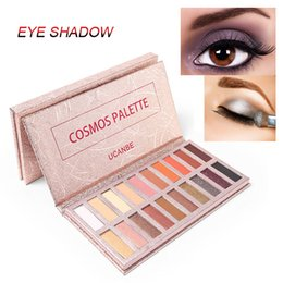 Smokey glitter eyeS online shopping - UCANBE Colors Shimmer Matte Eyeshadow Palette Radiant Makeup Smokey Warm Pigment Long Lasting Shadow Powder Natural Sexy Best Eye Makeup