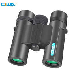 Discount telescope definition - CIWA 10X26 Binoculars high-definition outdoor travel optical hunting portable compact concert special telescope