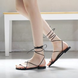 $enCountryForm.capitalKeyWord Australia - Hot Sale-Women Sandals 2019 New Women Wedding Party Sexy Sandals Summer Casual Shoes Woman Adjust Strap Flats Sandalia Feminina
