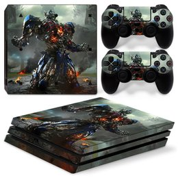 $enCountryForm.capitalKeyWord Australia - Fanstore Skin Sticker Vinyl Wrap Cover Transformers for Playstation PS4 Pro Console and 2 Remote Controller