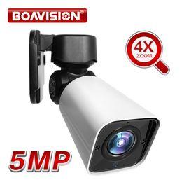 Ip camera ptz poe online shopping - 5MP PTZ Bullet IP Camera Outdoor X Optical ZOOM Network PTZ Camera Waterproof IP66 IR M CCTV Security Bullet Camera V POE