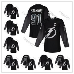 696f37a5f Men Women Youth Tampa Bay Lightning Alternate 86 Nikita Kucherov 91 Steven  Stamkos Victor Hedman Brayden Point Andrei Vasilevskiy Jersey