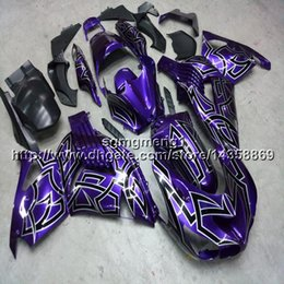 $enCountryForm.capitalKeyWord Canada - 23colors+Gifts Injection mold purple motorcycle Fairing For Kawasaki ZX14R 2006 2007 2008 2009 2010 2011 2012 2013 2014 2015 2016