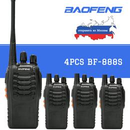 $enCountryForm.capitalKeyWord Australia - 4Pcs baofeng BF-888S Walkie Talkie Portable Two way radio station 5W UHF 400-470MHz Comunicador Transmitter Transceiver radio