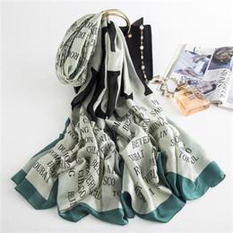 $enCountryForm.capitalKeyWord Australia - 2019 new for women's silk scarves spring and summer sunscreen beach shawl scarves