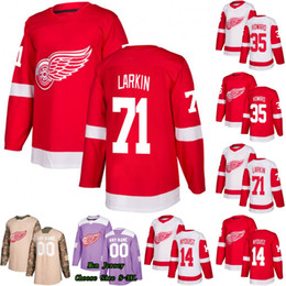 19eed4b453a Detroit Red Wings Gustav Nyquist Jimmy Howard Andreas Athanasiou Tyler  Bertuzzi Frans Nielsen Larkin Anthony Mantha Gordie Howe Jersey