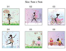 $enCountryForm.capitalKeyWord Australia - Wall decor Beautiful Girl Butterfly Flower Switch Sticker Art Wall Sticker Home Decor for Kids Room Nursery Home Decoration Decals