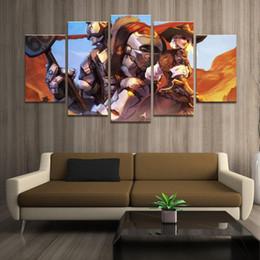 $enCountryForm.capitalKeyWord Australia - Home Decor Poster HD Pictures Prints Canvas 5 Piece Modular Ashe Reinhardt Game Living Room Decorative Painting Framed