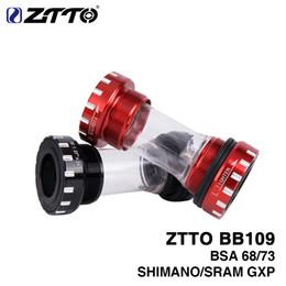 $enCountryForm.capitalKeyWord Australia - ZTTO BB109 BB68 BSA68 bsa73 GXP MTB Road bike External Bearing Bottom Brackets for parts Prowheel 24mm BB 22mm GXP Crankset