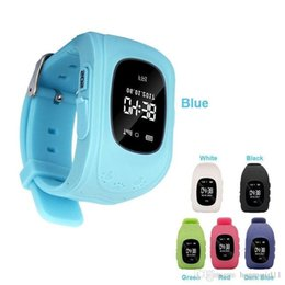 $enCountryForm.capitalKeyWord Australia - Anti-lost Children Smart Wrist Watch GSM Positioning Q50 For Android IOS Smartphones